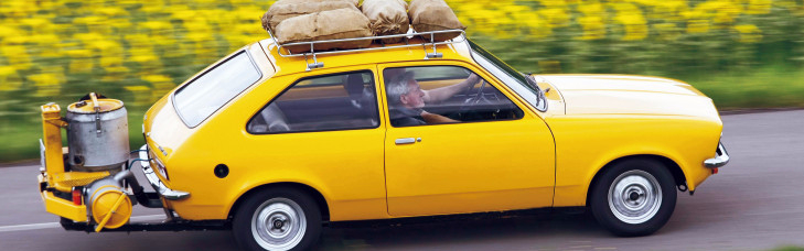 opel kadett mit holzvergaser. Black Bedroom Furniture Sets. Home Design Ideas